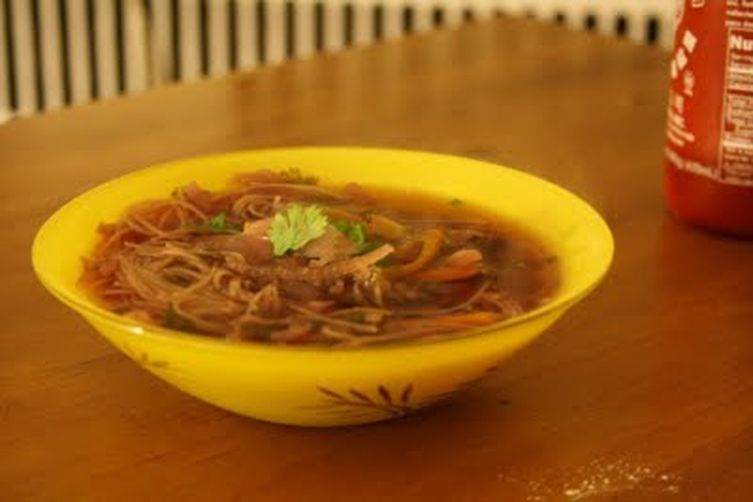 Gingeriest Asian Broth withNoodles 1