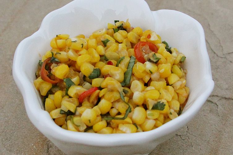 Spicy Corn Salad 1
