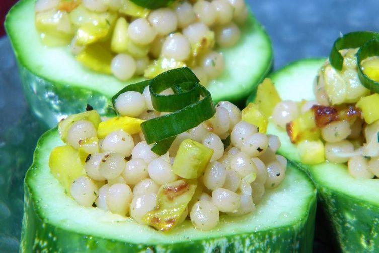 Coucous & Summer Squash CucumberCups 1