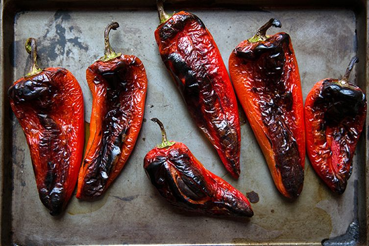 Roasted Red Peppers 1