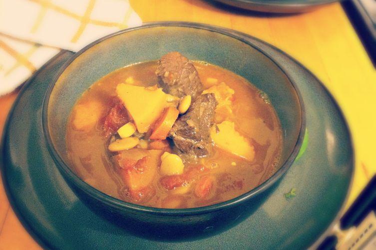 Spicy Beef Shoulder Stew withSquash