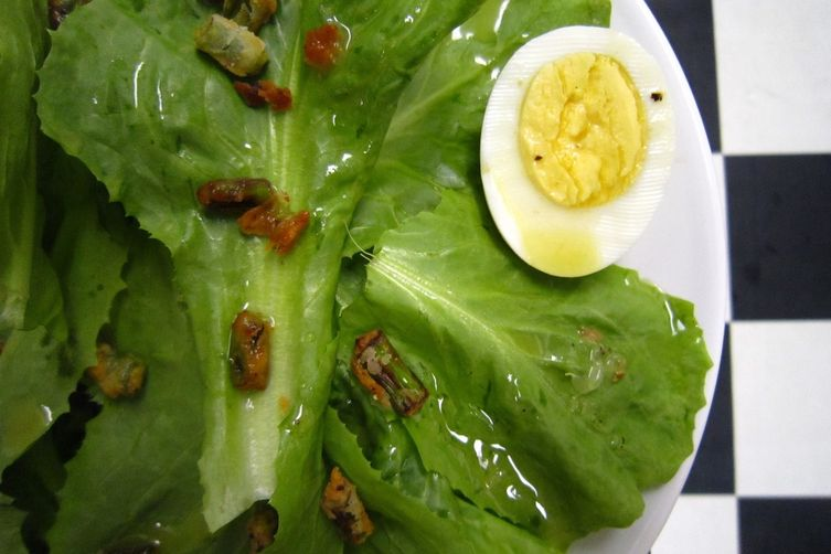 2Amys' Escarole Salad, My Way