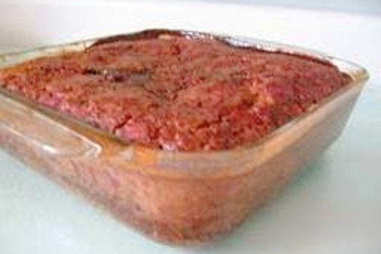 Raspberry-Orange PuddingCake 1