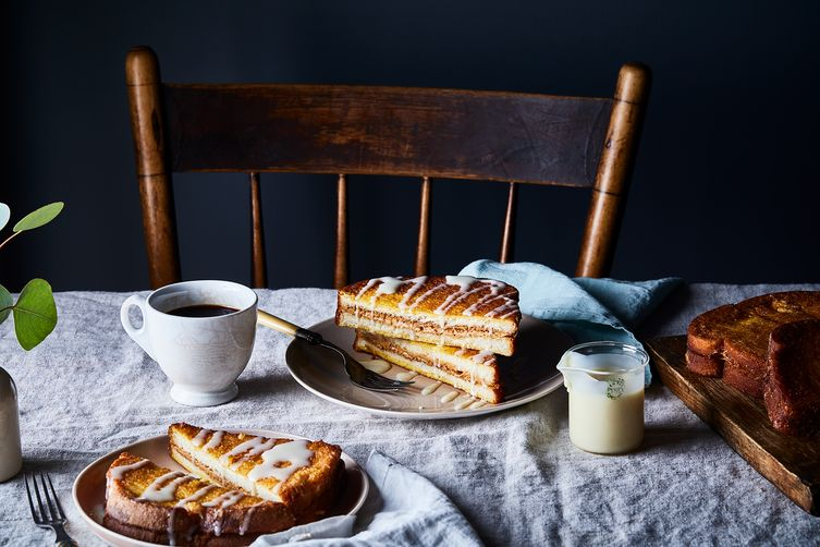 Hong Kong–Style Peanut Butter French Toast with CondensedMilk 1
