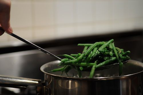 Green Beans with Apricots and SerranoHam