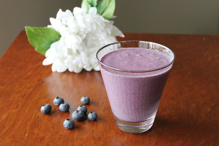 Perfect Morning Blueberry Smoothie 1