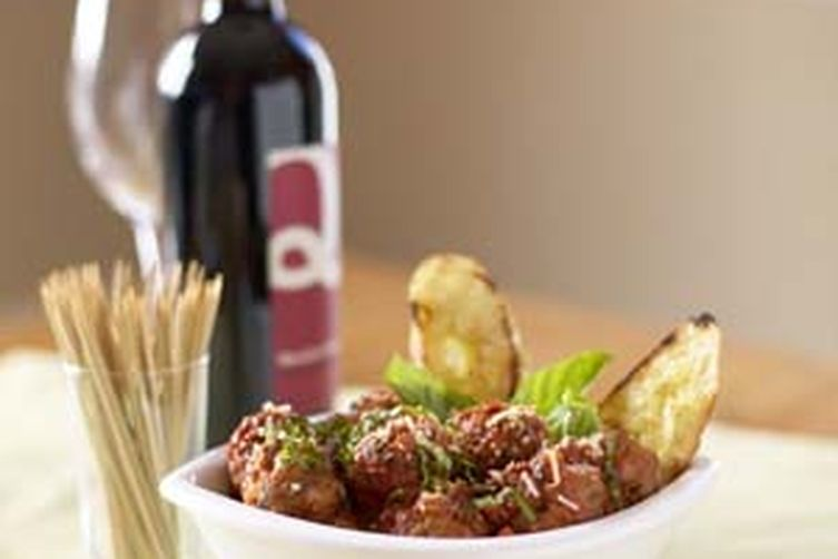 POLPETTINI: LITTLE MEATBALLS WITH MELTED FONTINA CENTERS 1