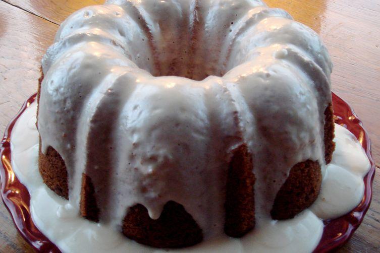 Carrot Bundt Cake with Cream CheeseGlaze 1
