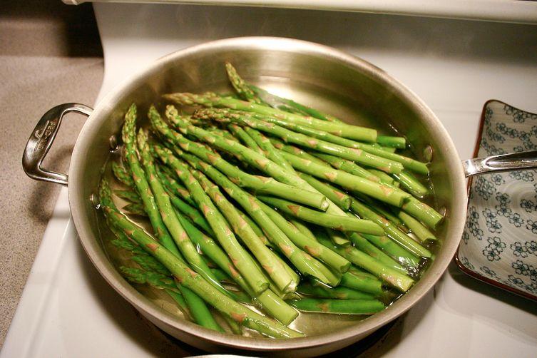 ASP - asparagus, sunchokes, pomegranateseeds