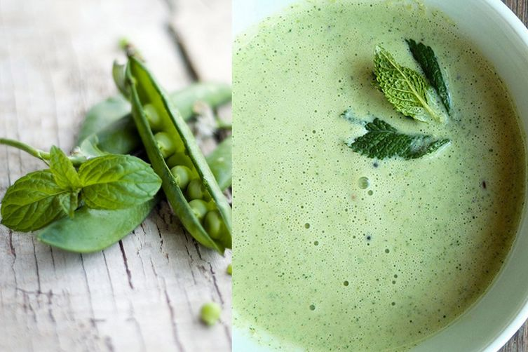 Pea and Mint Cream 1
