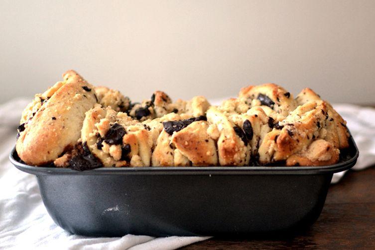 Halva Pull-Apart Bread with DarkChocolate