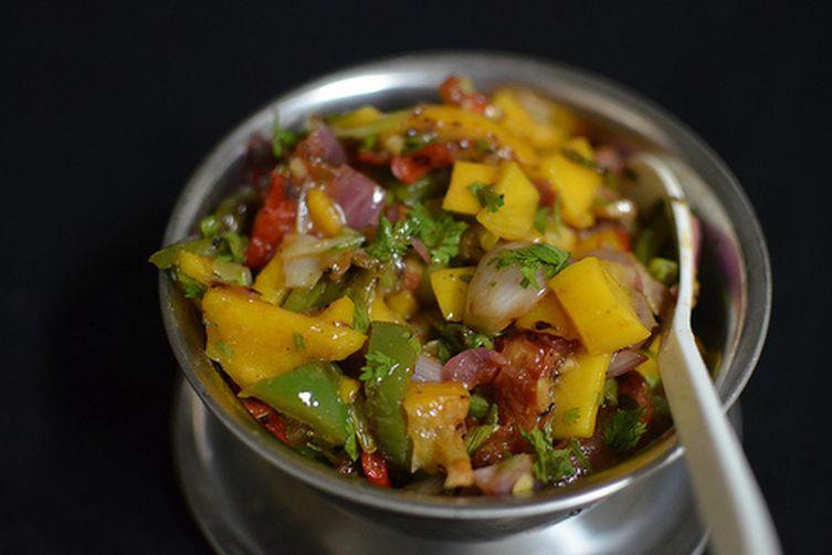 Grilled Citrus & MangoSalsa