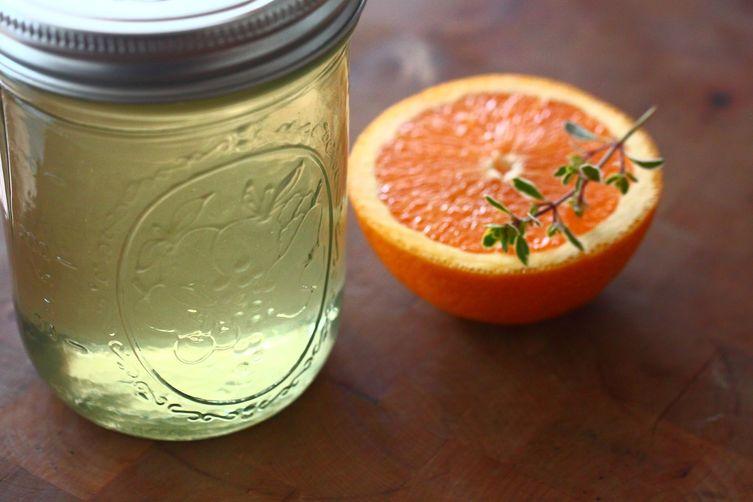 Orange, Cucumber & Lemon Thyme ItalianSoda