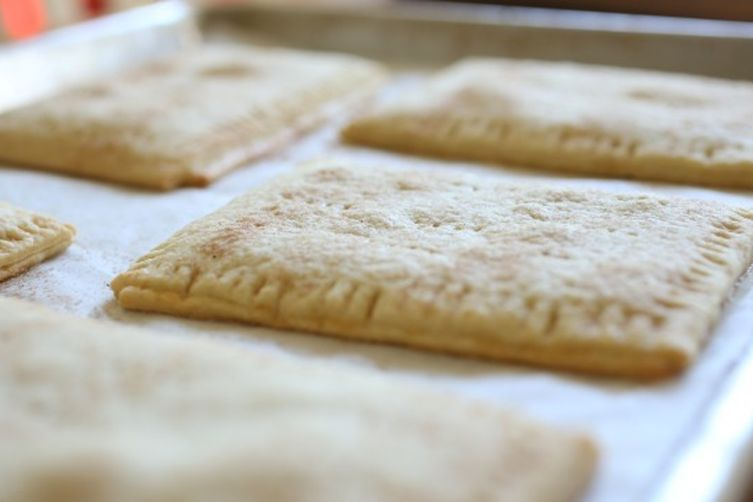 Toastries with homemade Apple-Pearfilling 1