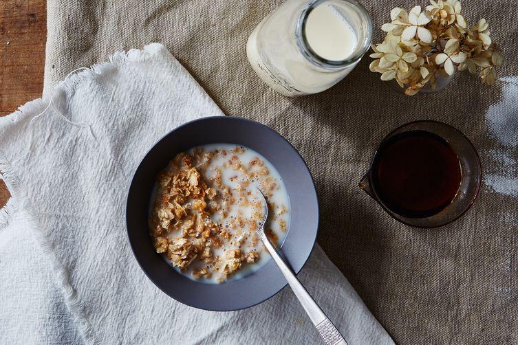 Homemade Soy Milk (Cook FirstMethod)