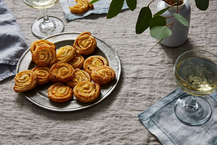 10-Minute Parmesan & MustardPinwheels 1