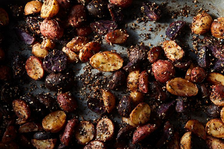 A Medley of Roasted Potatoes with Homemade Za'atar & AleppoPepper 1