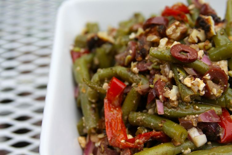 Mediterranean Green Bean Salad 1