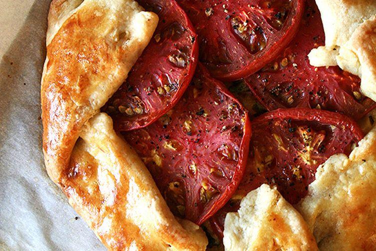 Tomato and Gruyere CheeseGalette 1