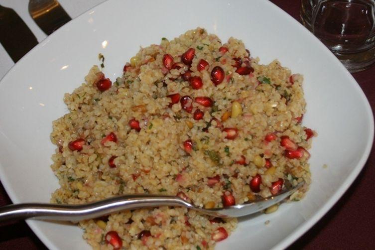 Couscous or Burglar Salad with PomegranateSeeds 1
