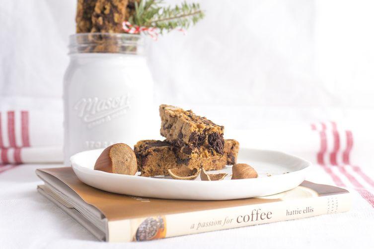 dark chocolate hazelnutbiscotti 1