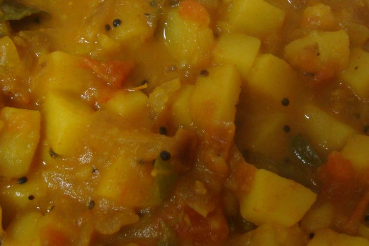 PotatoCurry(homestyle) 1