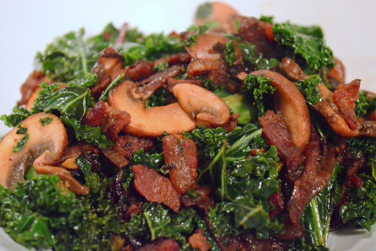 Kale with Bacon andBalsamic 1
