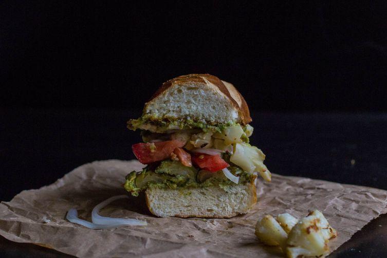 Loaded Roasted VeggieSandwich